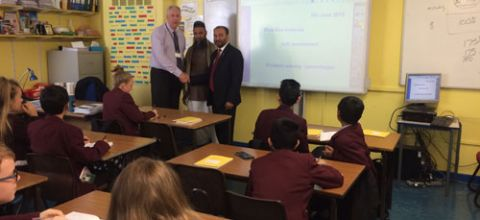 Visit to Thornhill School, UK- 2015