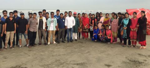 Adventurous Journey to Cox's Bazar- 2015
